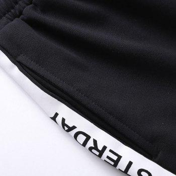 Men Plus Size Casual Shorts All Match Breathable Simple Bottoms Shorts - WHITE L