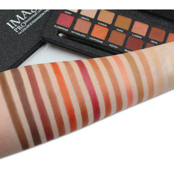 IMAGIC Matt Pearl 14 Color Eyeshadow Eye Makeup - multicolor