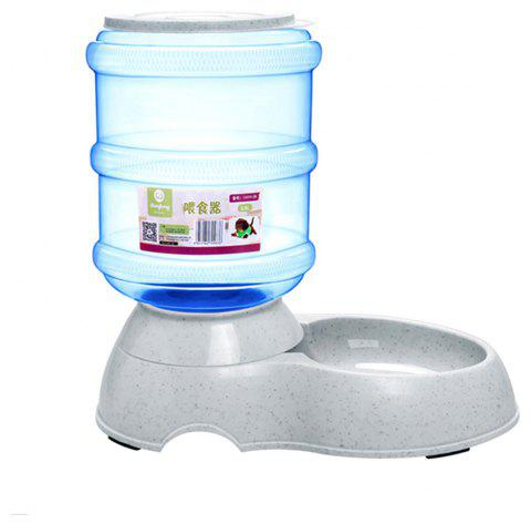 Pet Dog Cat Kettle Drinking Fountain Automatic Feeder - POWDER BLUE SIZE S