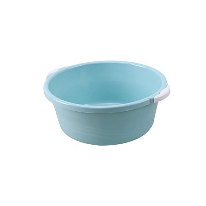 DIHE Small Size High Quality Thicken Shanked Plastic Washbasin - SKY BLUE