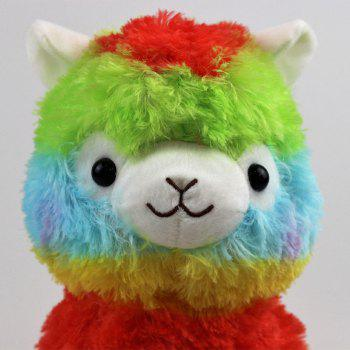 13CM Alpaca Plush Doll Multicolour Gift - multicolor B
