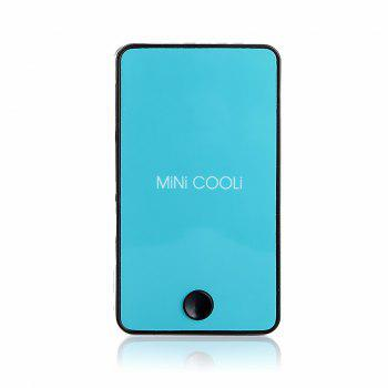 Mini Handheld Air Conditioner Cooling Fan with Humidifying Function - TURQUOISE