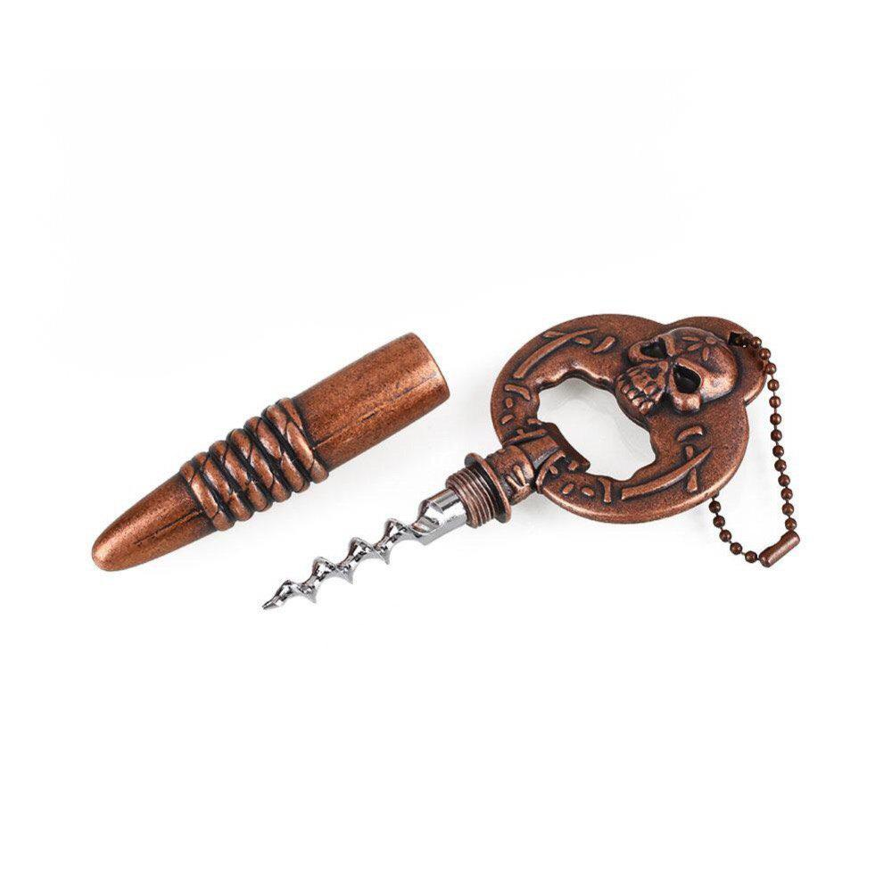 2 In 1 Creative Convenience Multifunctional Cans Bottles Opener - COPPER
