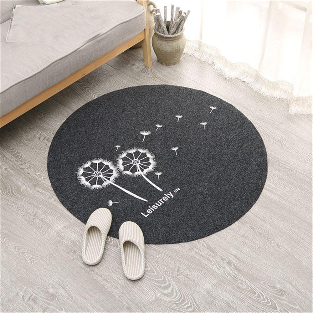 Dandelion Pattern Living Room Bedroom Carpet Floor Mat xwsn custom car floor mats for mitsubishi all models asx lancer sport ex zinger fortis outlander grandi car floor mat car carpet