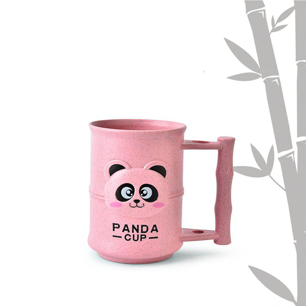 1PC Creative Design Adorable Cartoon Panda Pattern Toothbrush Cup jd 118 creative 2 in 1 abs anti scale toothbrush cup