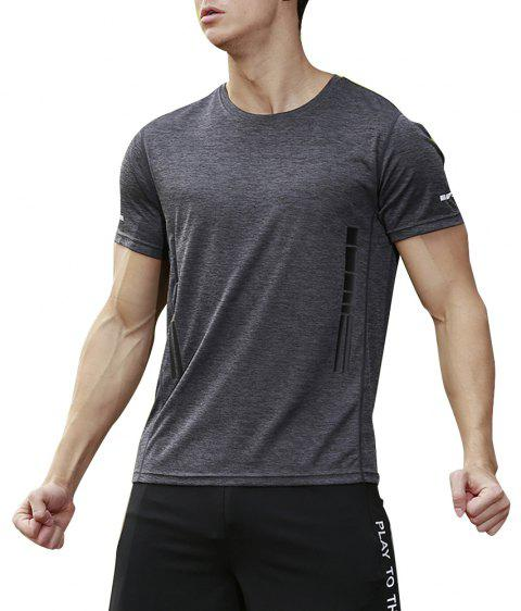 Men's Base Force Extremes Lightweight Short Sleeve T-Shirt - SLATE GRAY 3XL