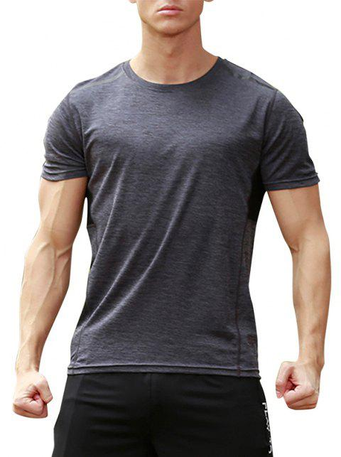 Men's Force Short Sleeve T-Shirt - JET GRAY 3XL