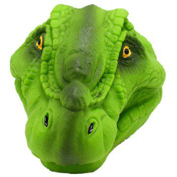 Green Soft Dinosaur Hand Puppet Tyrannosaurus Gloves Toys Model Gift - GREEN