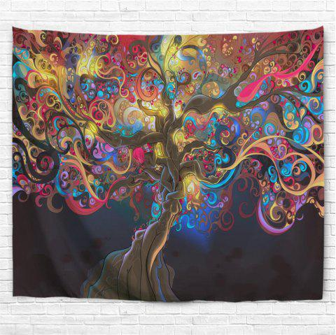 2019 Colorful Trees 3d Printing Home Wall Hanging Tapestry