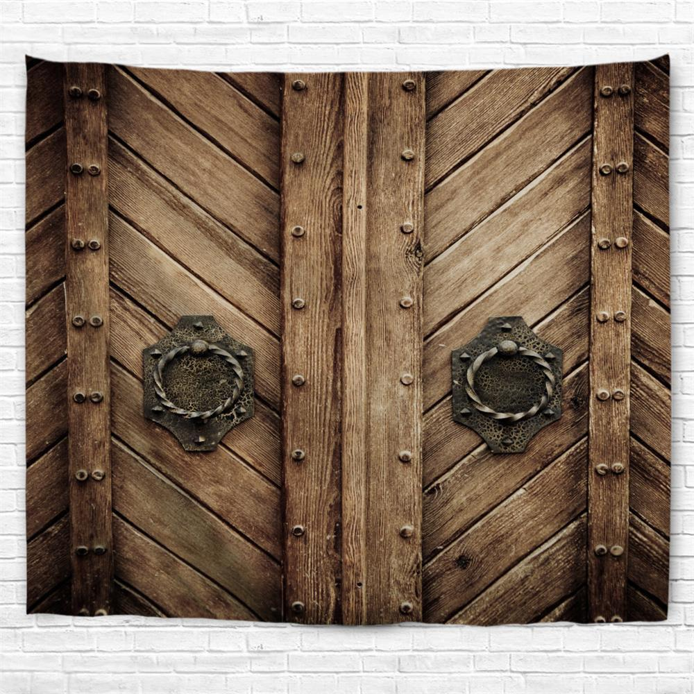 Rivet Doors 3D Printing Home Wall Hanging Tapestry for Decoration - multicolor A W230CMXL180CM
