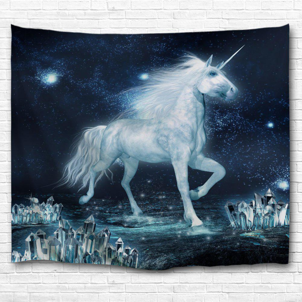 The Unicorn on The Ice 3D Printing Home Wall Hanging Tapestry for Decoration home decoration decoration the lighthouse tea table the teapoy decorative frame the florist