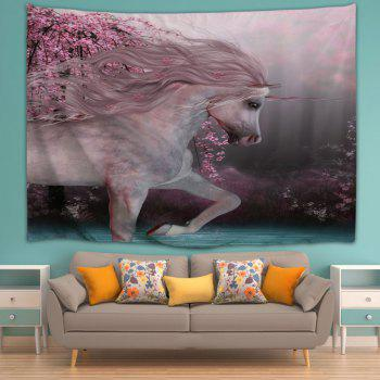 Run Unicorn 3D Printing Home Wall Hanging Tapestry for Decoration - multicolor A W230CMXL180CM