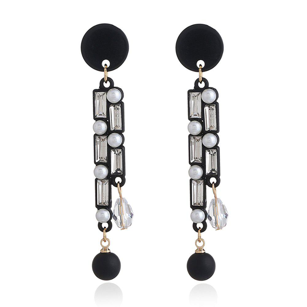 Creative square earrings fashion and personality