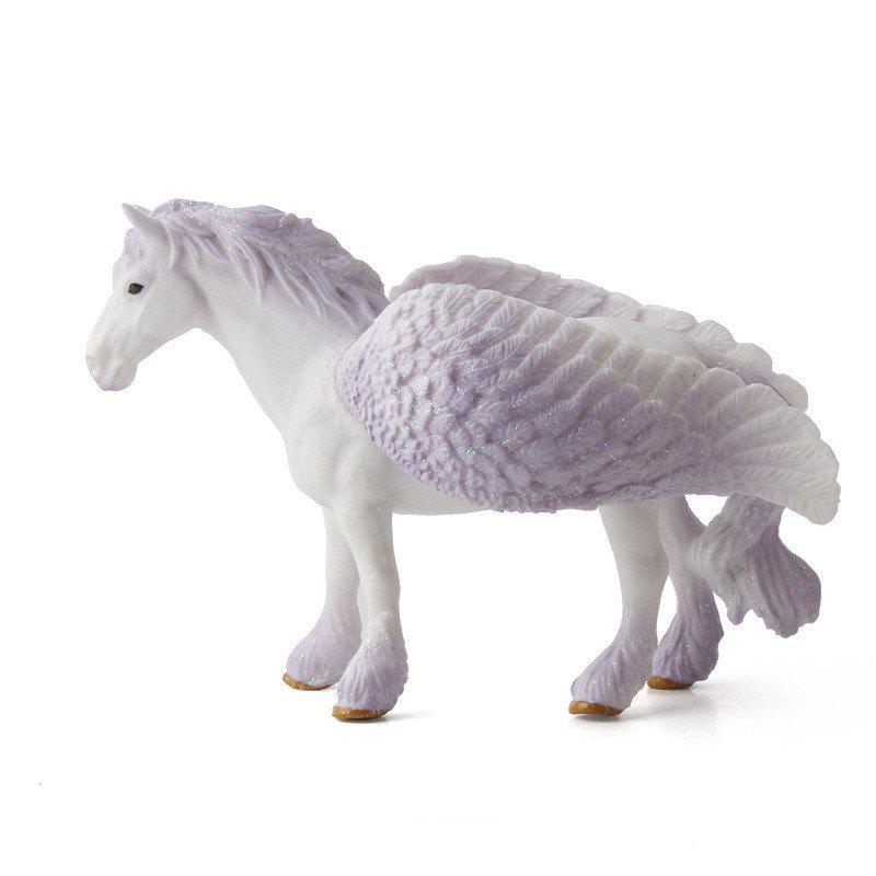 Tale Animal Big Unicorn Flying Horse Figure Model Wild Figurine Kids Toy big simulation black horse toy polyethylene