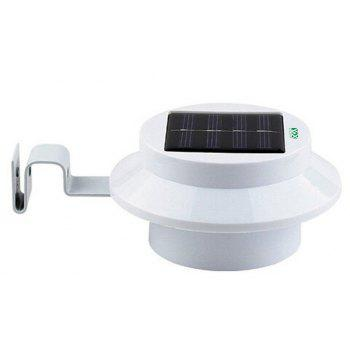 YWXLight Waterproof Outdoor 3 LED Bulb Solar Power Light for Garden Garden - WARM WHITE