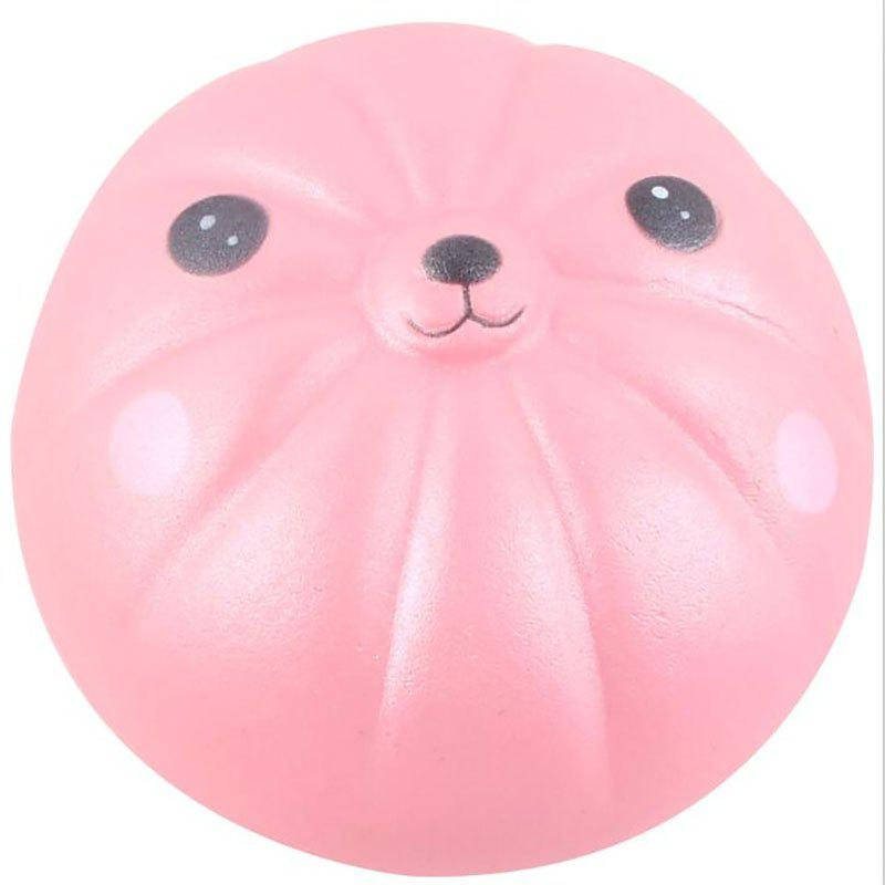 Jumbo Squishy Slow Rebound Bear Bun PU Decompression Toys new pu slow rebound jumbo squishy penguin toys