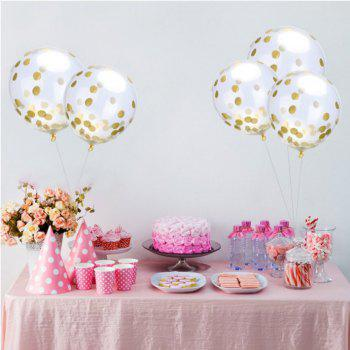 12 Inch Sequin Latex Balloon Romantic Wedding Party Decoration - multicolor B