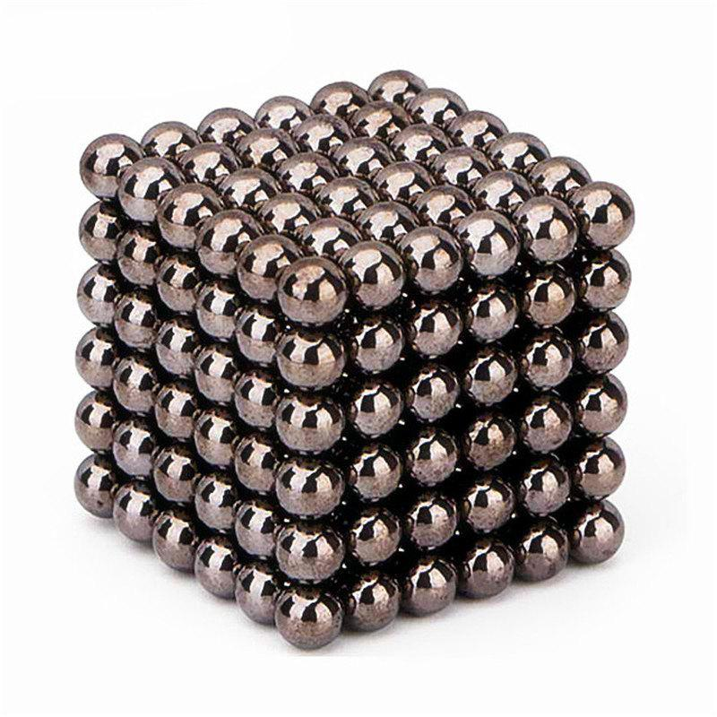 Magnetic Cube 216PCS Children'S Puzzle Buckyballs Magic DIY Educational Toy - TAUPE