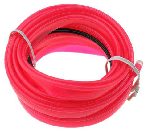 3m USB Neon LED Light Glow Electroluminescent Wire / El Wire for Car Cosplay - NEON PINK