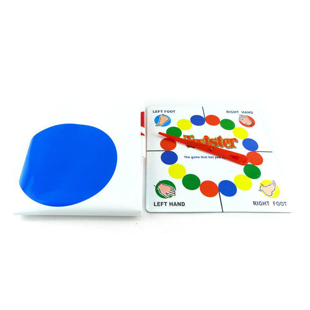 Fun Outdoor Sports Toys Twister Moves Game Play Mat Twisting Body Creative free ship fun classical children kids natural toy wooden train rail track section connector play game toys parts fit universal