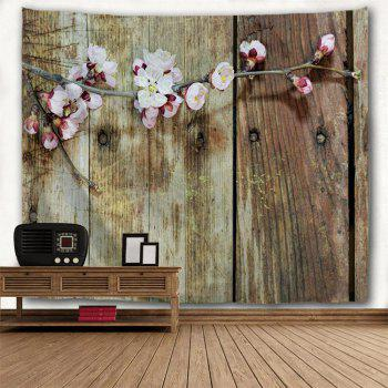 Board Flowers 3D Printing Home Wall Hanging Tapestry for Decoration - multicolor A W230CMXL180CM