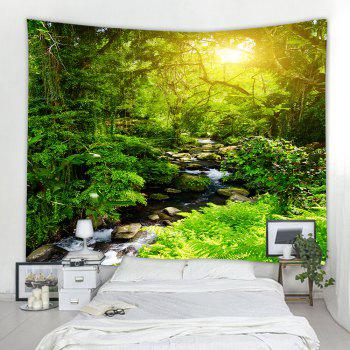Forest Creek  3D Printing Home Wall Hanging Tapestry for Decoration - multicolor A W230CMXL180CM