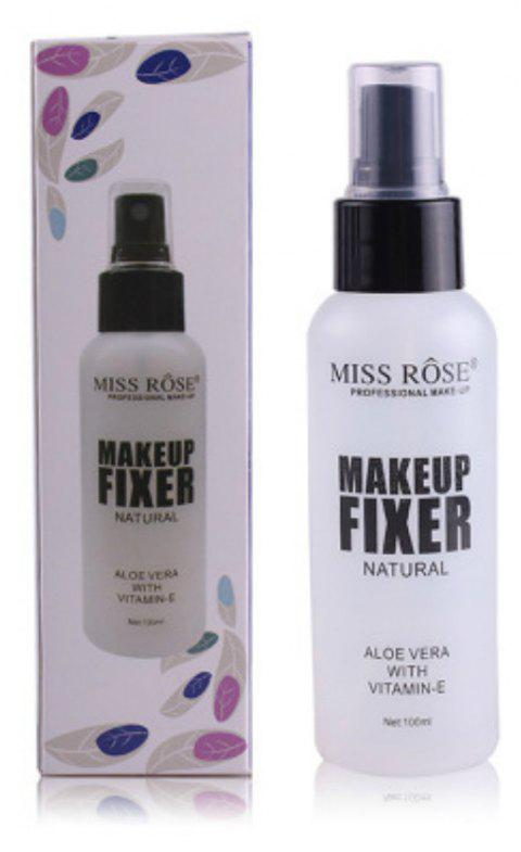 Miss Rose Natural Beauty Make Up Setting Spray Bottle - TRANSPARENT