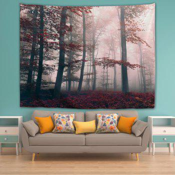 Mysterious Forest 3D Printing Home Wall Hanging Tapestry for Decoration - multicolor A W230CMXL180CM