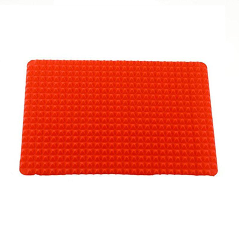 Creative Pyramid Silicone Baking Mat Nonstick Pan Pad 200mmx200mm 600w 120v powerful big truck engine block oil pan flexible silicone heater pad oil heater flexible heated