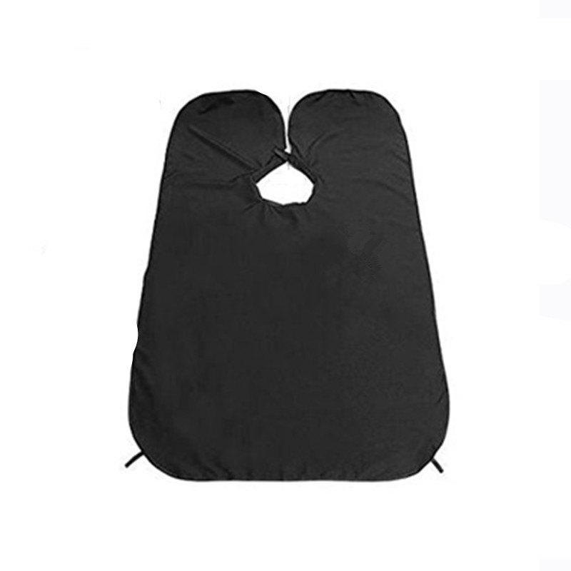 Shaving Catcher for Keep Sink Clean Beard Apron with Strong Suction Cups for Men - BLACK