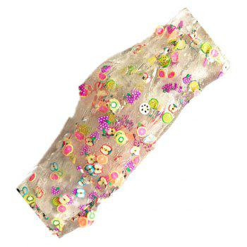 Candy Mud pas Sticky main bricolage décompression jouet - multicolor A