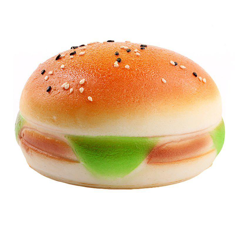 Jumbo Squishy Simulation PU Slow Rebound Sesame Burger Decompression Toys new pu slow rebound jumbo squishy penguin toys