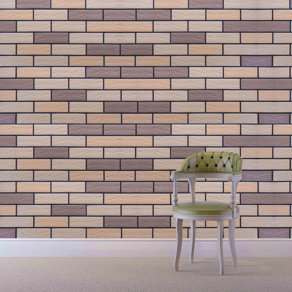 Creative Brick Removable Wall Stickers family wall quote removable wall stickers home decal art mural