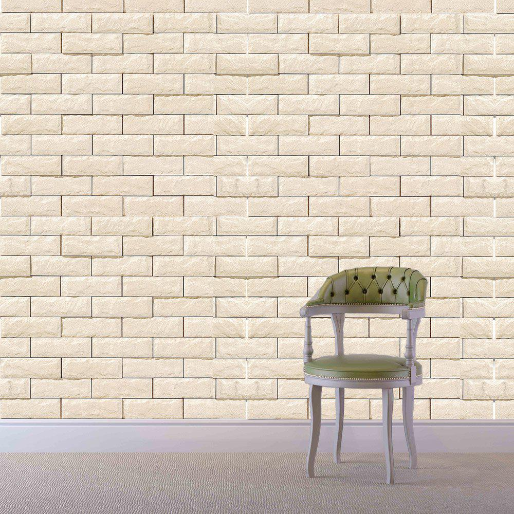 ZQ160006 Brick Pattern Creative Removable Wall Stickers