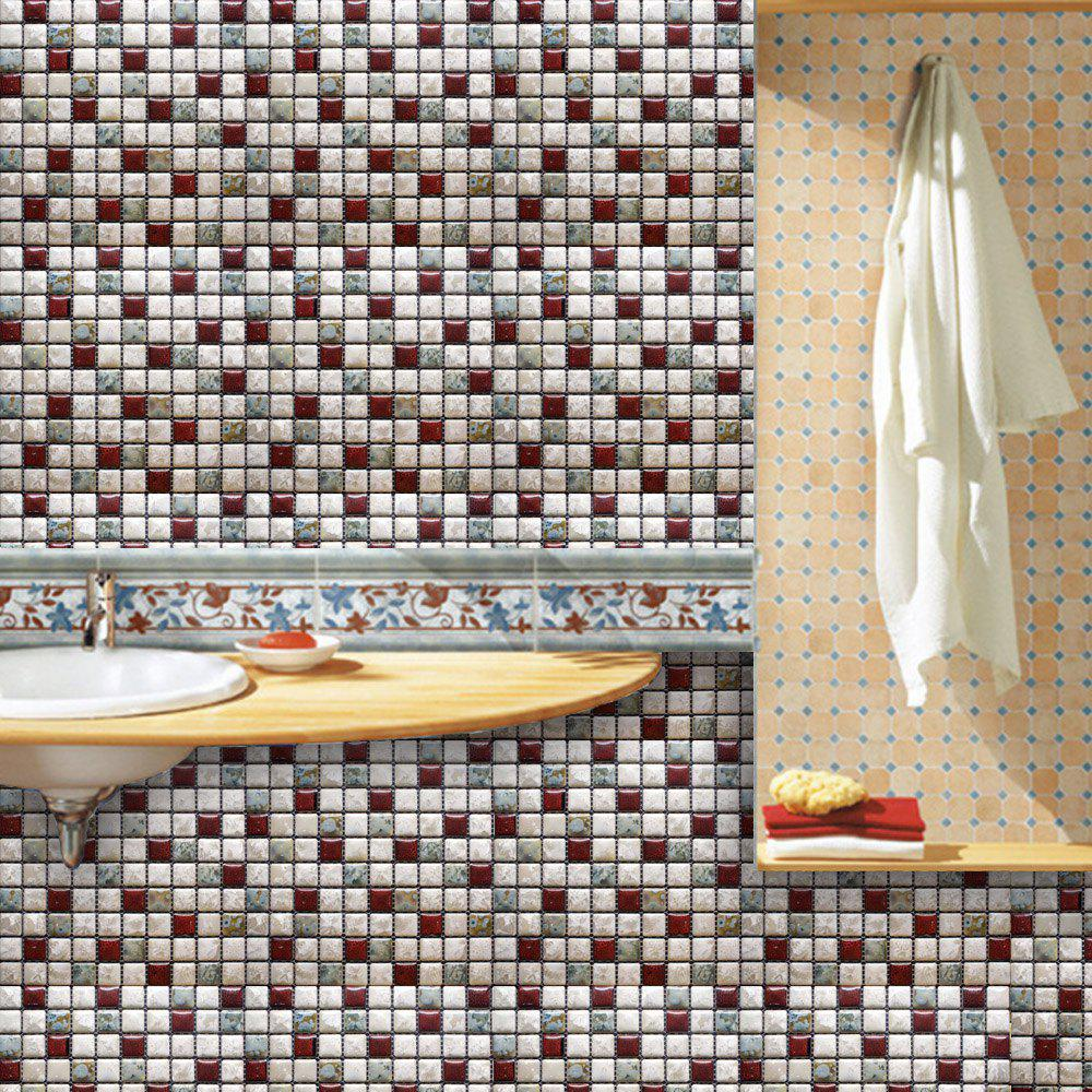 10-13 Wall Stickers Removable Mosaic Aluminum Foil Tile wall stickers removable mosaic aluminum foil tile