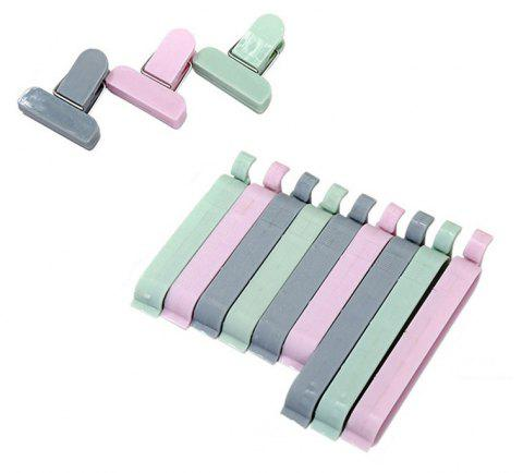 Bag Clips Househoud Snack Fresh Food Storage 12PCS - multicolor