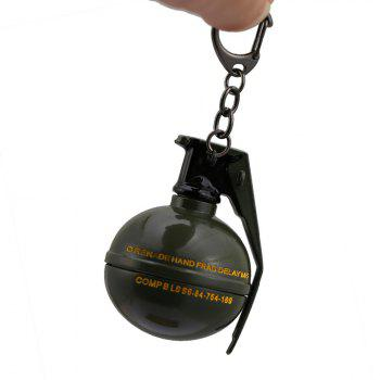 Round Pieces Toy Key Chain - ARMY GREEN