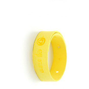 Magic-Things Natural Mosquito Repellent Bracelet with Citronella - MUSTARD