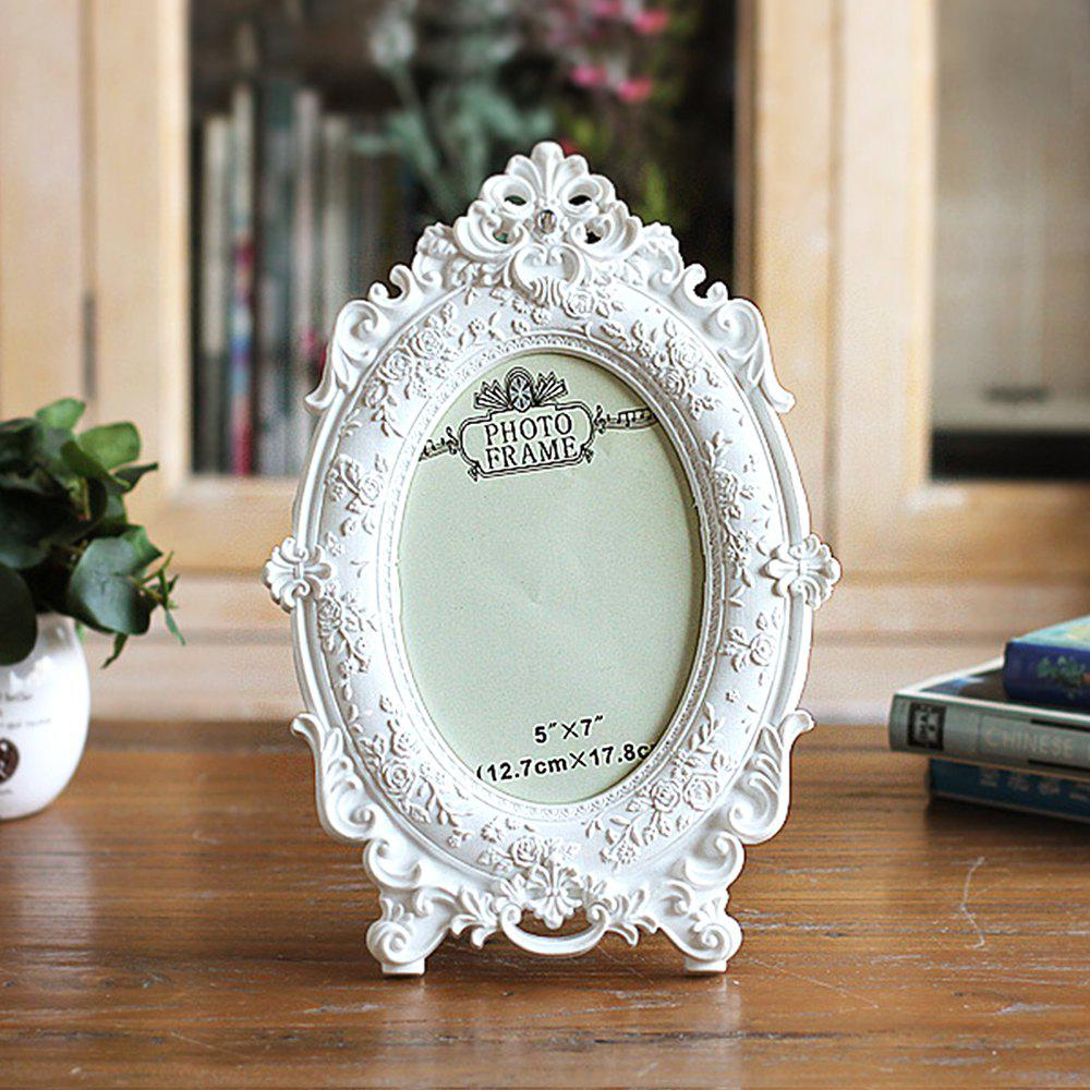 European Home Creative Ornaments 7 Inch Wedding Studio Photo Frame