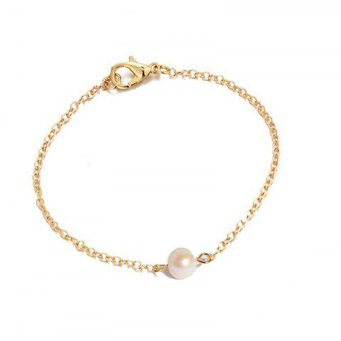 Fashion Simple Ladies Fresh Bracelet - WHITE
