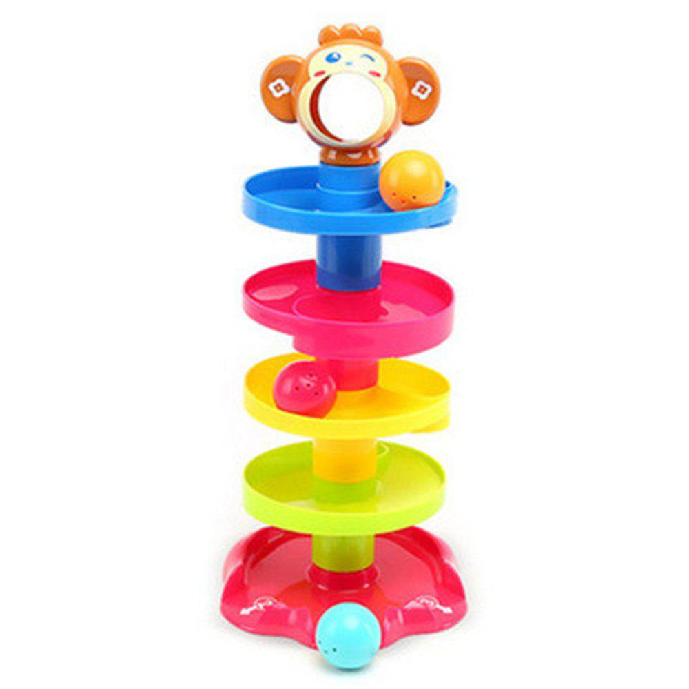 Educational Toys Layer Upon Stack Ring A Bell Tower mymei outdoor 90db ring alarm loud horn aluminum bicycle bike safety handlebar bell