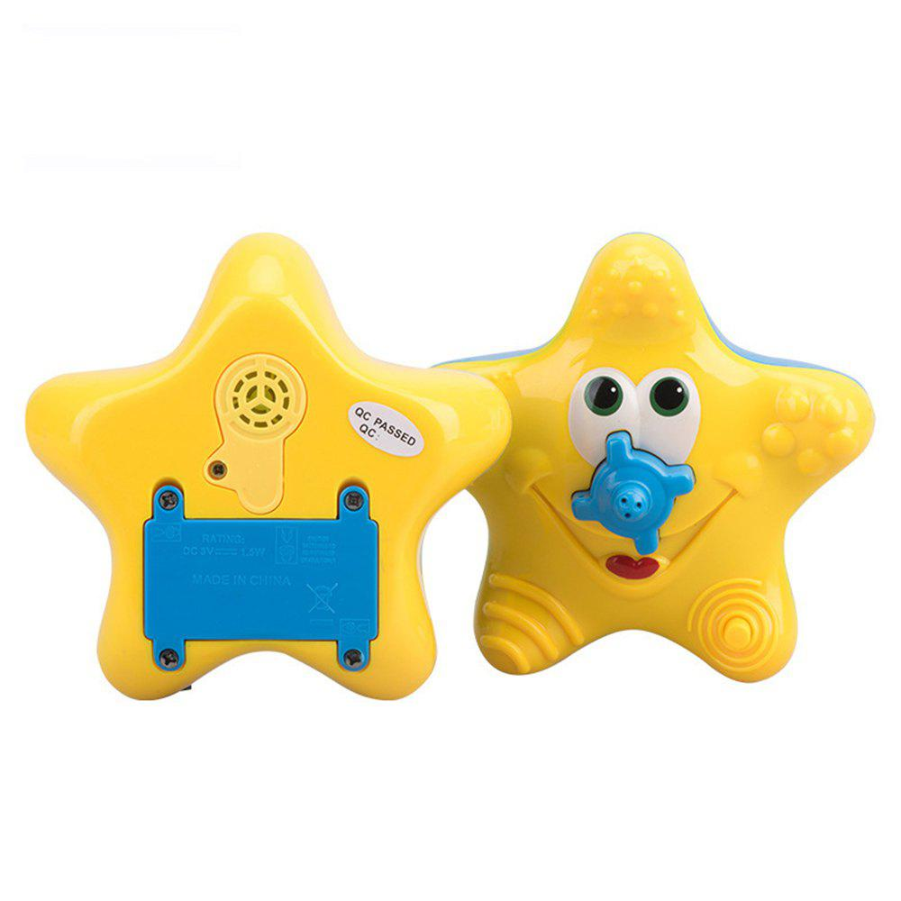 Children Swimming Bath Toy Electric Shower Spray Starfish children swimming bath toy electric shower spray starfish