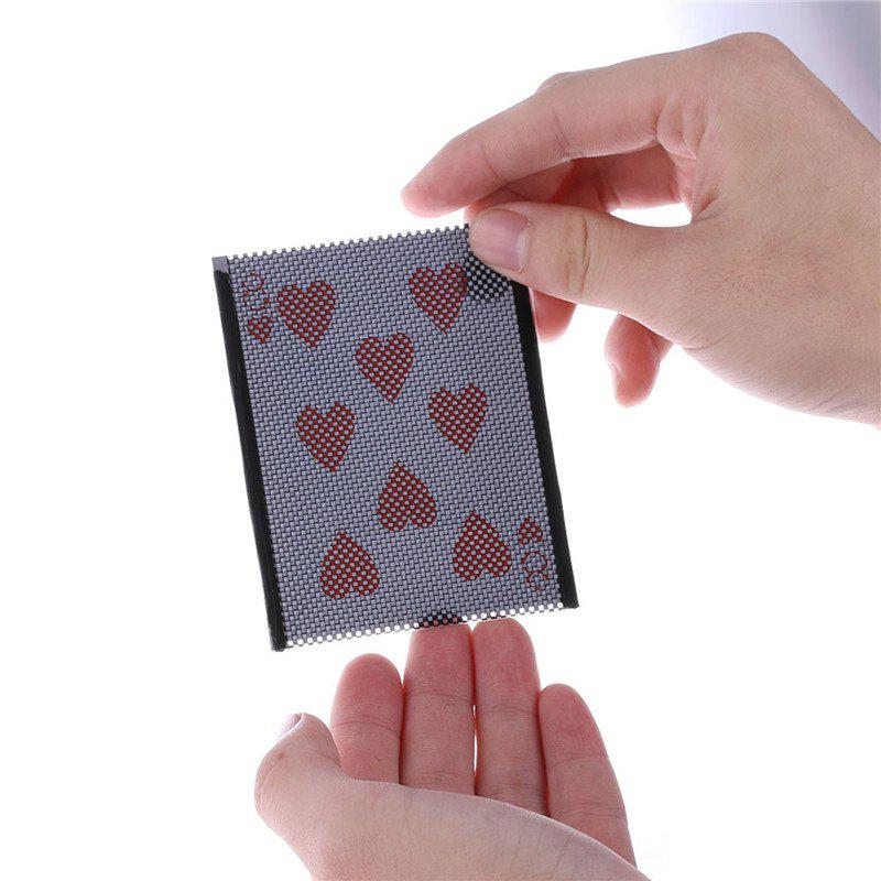 Card Vanish Illusion Sleeve Change Funny Magic Trick Hidden Card Unique коврик для йоги starfit fm 102 цвет зеленый 173 х 61 х 0 3 см