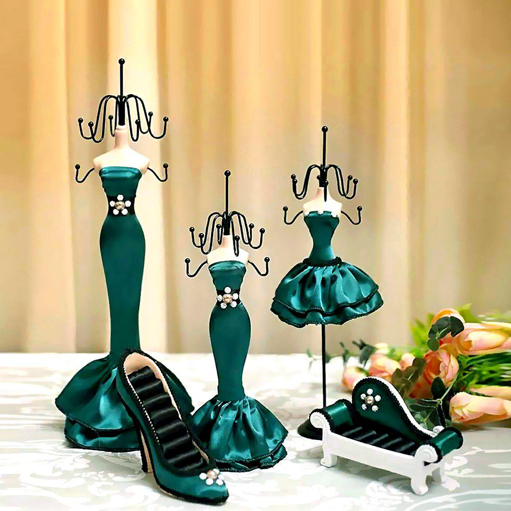 Wrought Iron Home Decoration Princess Model Jewelry Display Stand wrought iron chandelier island country vintage style chandeliers flush mount painting lighting fixture lamp empress chandeliers