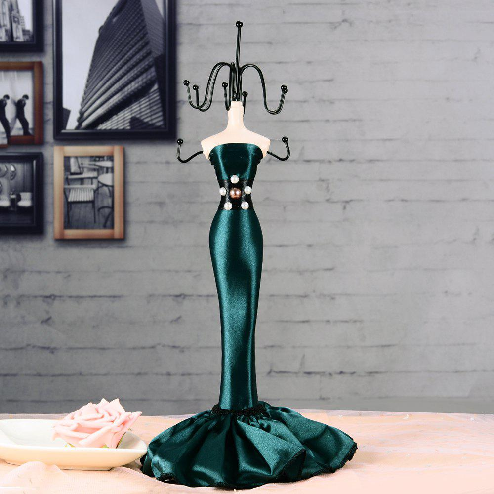Wrought Iron Home Decoration Princess Model Jewelry Display Stand