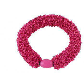 Arrival Elastic Candy Color Rope Headbands Headwear - ROSE RED