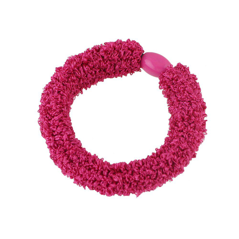 Arrival Elastic Candy Color Rope Headbands Headwear 30pcs multicolor dot cloth women elastic hair bands scrunchy girls hair tie ring rubber rope ponytail holder headwear headbands