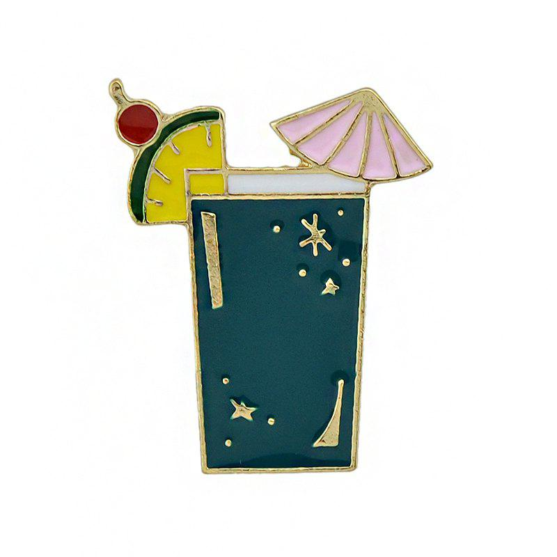 Gold-color Metal with Colorful Enamel Juice Brooches духовой шкаф indesit ifw 6530 bl