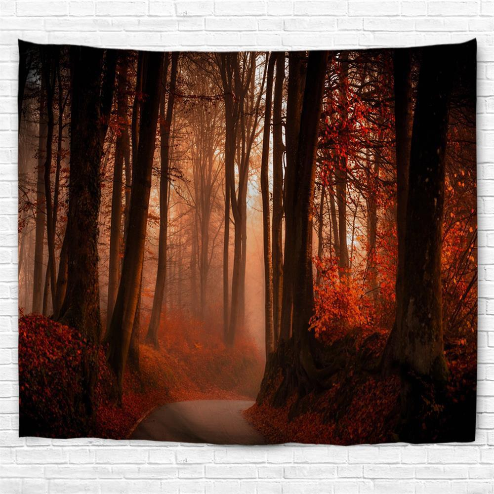Mangrove Path 3D Printing Home Wall Hanging Tapestry for Decoration mangrove and human activities