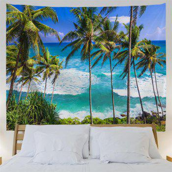 Sri Lanka Beach 3D Printing Home Wall Hanging Tapestry for Decoration - multicolor A W230CMXL180CM